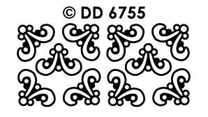 DD6755 Hoeken vrolijke vormen