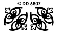 DD6807 Harten Decoratief