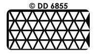 DD6855 Achtergrondsticker Driehoek