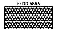 DD6856 Achtergrondsticker Sterretjes
