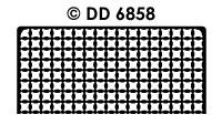 DD6858 Achtergrondsticker Schildje