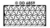 DD6859 Achtergrondsticker Mozaiek 1