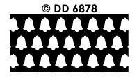 DD6878 Achtergrondsticker Kerstbel