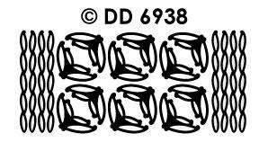 DD6938 Randje & Hoekjes Decoratieve bladeren