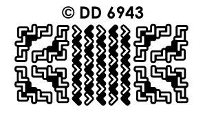 DD6943 Randje & Hoekjes haakje