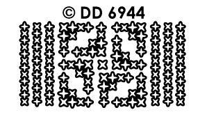 DD6944 Randje & Hoekjes met sterren