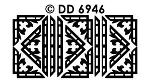DD6946 Randje & Hoekjes filmstrip bloem