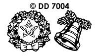 DD7004 Klokken & Kransen