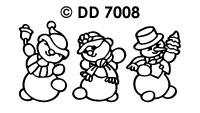 DD7008 Sneeuwmannetjes