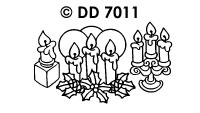 DD7011 Kerstkaarsen 1-2-3
