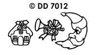 DD7012 Diverse Kerstmotieven (1)
