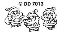 DD7013 Kerstmannen (Werkend)