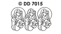 DD7015 Maria & Kindje Jezus