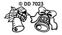DD7023 Diverse Kerstklokken