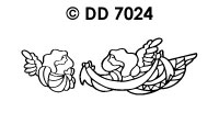 DD7024 Kerstengelen