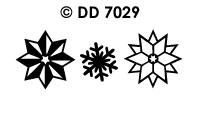 DD7029 Kerststerren Divers