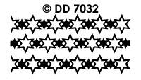 DD7032 Kerstkader Ster aan Ster