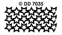 DD7035 Kerstkader Sterrenregen