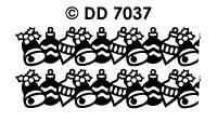 DD7037 Kerstkader Bal/ Bel/ Bal