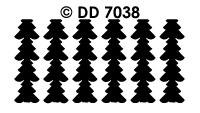 DD7038 Kerstkader Kerstboom