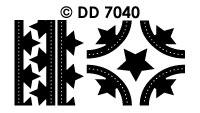 DD7040 Kerstkader Kerstster