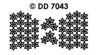 DD7043 Kerstrandje en Hoeken Sterren