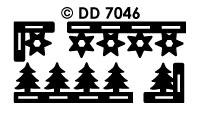 DD7046 Kerst Kader Boom