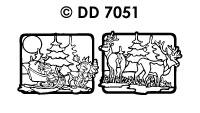 DD7051 Landschap Hert/ Slee/ Hert