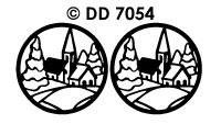 DD7054 Landschap (Ovaal/Cirkel)