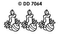 DD7064 Kaars/ Bal