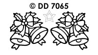 DD7065 Kerstbellen Strik