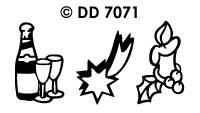 DD7071 Diverse Kerstmotieven (2)
