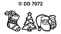 DD7072 Diverse Kerstmotieven (3)