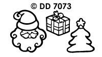 DD7073 Diverse Kerstmotieven (4)