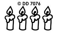 DD7076 Kaarsen
