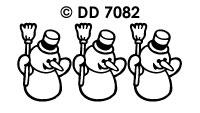 DD7082 Sneeuwmannetje