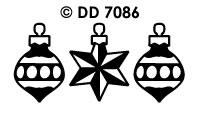 DD7086 Diverse Kerstballen