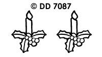 DD7087 Kerstkaarsen (Klein)