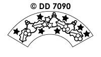 DD7090 Kerstmotieven (Draaikaart)