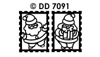 DD7091 Kerstmannen Sluiters