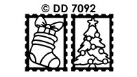 DD7092 Kerst Divers Sluiters