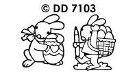 DD7103 Easter Bunny