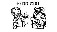 DD7201 Sinterklaas & zwarte Piet