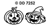 DD7252 Halloween Pompoenen