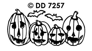 DD7257 Halloween Pompoenen