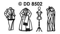 DD8502 Fashion Jurken ( 2 )
