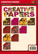 DV68101 set Creative Papers patroonpapier A5
