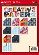 DV68102 set Creative Papers patroonpapier A5