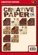 DV68103 set Creative Papers patroonpapier A5