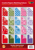 DV94000A Bumper pack double sided patterned papers A4